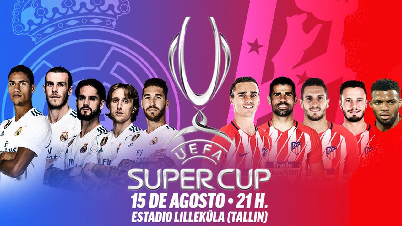 Pronostico Real Madrid-Atletico Madrid 15 Agosto: Supercoppa UEFA